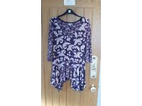 MARKS AND SPENCER LADIES TOPS 3 (SIZE 12) TWO NEW WITHOUT TAGS - ONE EXC CONDITION