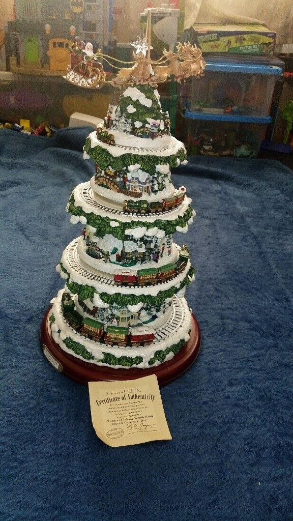 New Thomas Kinkade Wonderland Express Christmas Tree