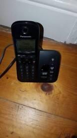 Panasonic phone and answer machine