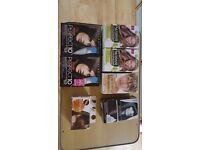 JOB LOT OF HAIR DYE KITS : VARIOUS MAKES AND COLOURS