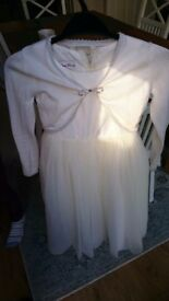 Bridesmaid dress and cardigan, Perfume River, size 5 & 7 year old available