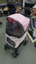 Pet Gear Pink Dog Stroller Pram