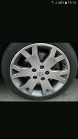 "Astra gsi 17"" alloy wheels"