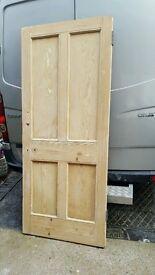 4 Panel Pine Doors