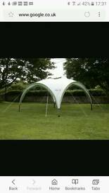 Coleman Event Shelter 12 x 12 with sidewalls and sun door