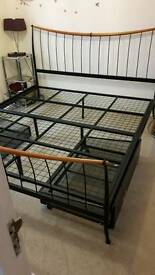 Super king size bed frame and draws