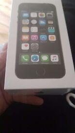Brand new iphone 5s still sealed space grey