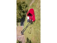 20 inch cylinder mower, nearly new & hardly used, £550 cash ,buyer to collect