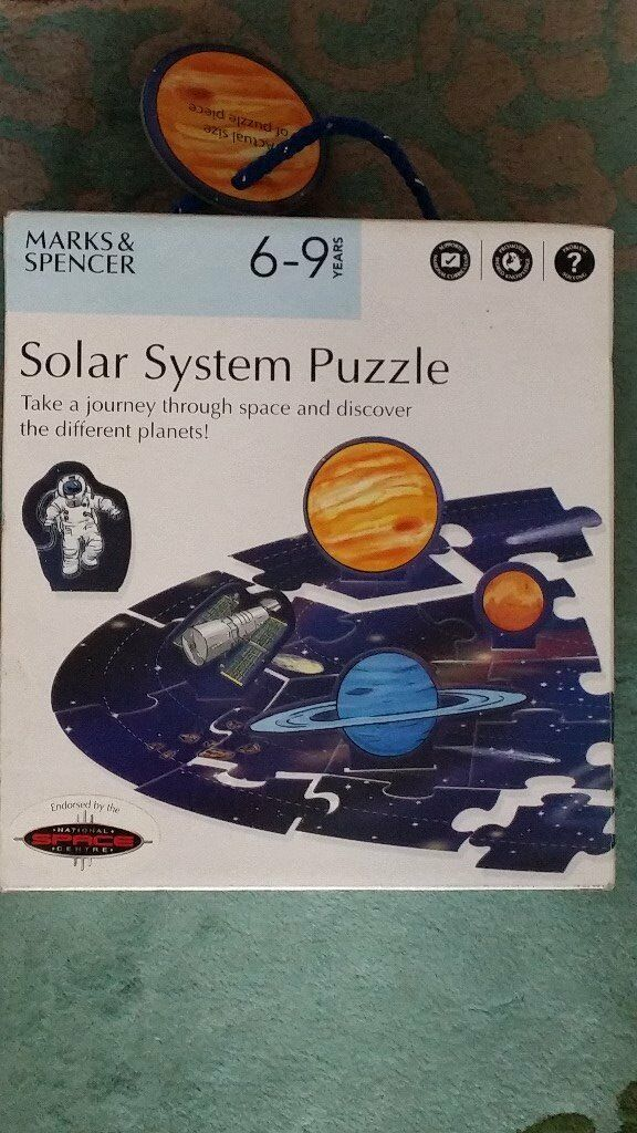 M&S Solar System jigsaw puzzle: **REDUCED FOR QUICK SALE**