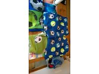 Kids Bedroom Curtains and matching bedding - Football curtains boys, football bedding