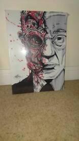 Sealed breaking bad gus artwork