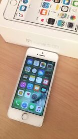 SOLD. Iphone 5S silver 16GB EE network good condition