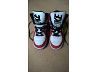 Nike high top basketball shoes/trainers UK size 5.5 (38.5)