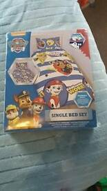Paw patrol single bedding