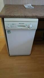 Dishwasher - tricity bendix slimline