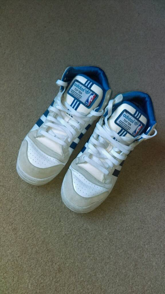 detailed look f5469 2b9b8 Adidas NBA Basketball boots