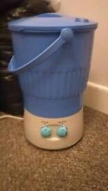 Mini washing machine.