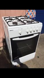BEKO GAS COOKER FULLY WORKING 50cm Wide