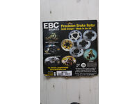 Brake Rotor - EBC MD1020 (Honda CB500 etc)