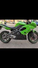 Kawasaki er6f cat c road leagal