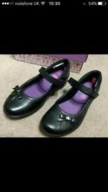 Clarks Daisy spark girls school shoes 13h