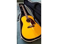 Epiphone Texan FT79 Electric Acoustic with Hard case