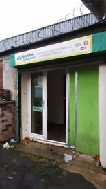 Approx 1000 sq ft unit/shop to let in Lower high street wednesbury
