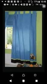 Bargain Next Digger Curtains 72 long x 54 wide Excellent Condition