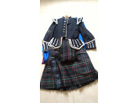 Kilt, Plaid and Doublet for a piper