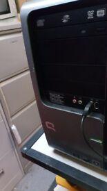 Conpaq desktop pc computer amd dual 4450e