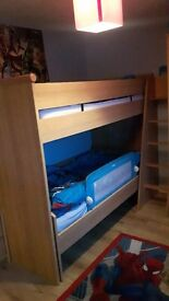 Fultons solid bunk beds