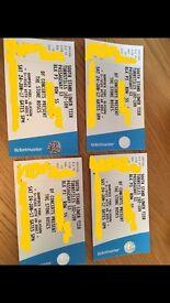1x Ticket Stone Roses Hampden 24th June support act Primal Screa