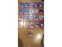 Deagostinis 21 boxing dvds collection
