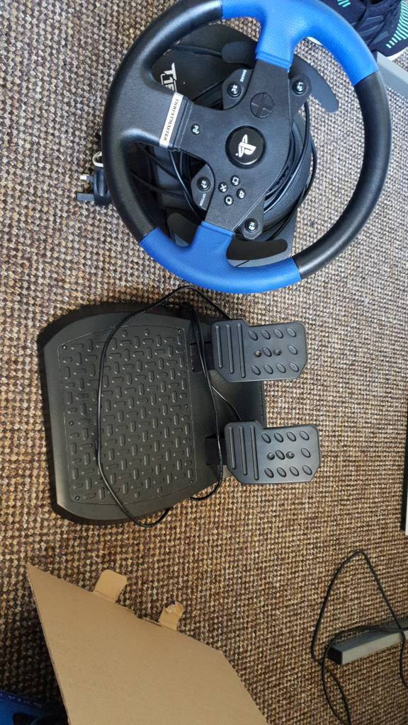 Thrustmaster T150 racing wheel with pedals (PICK UP ONLY)