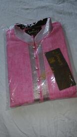 Brand new Men's medium pink sherwani