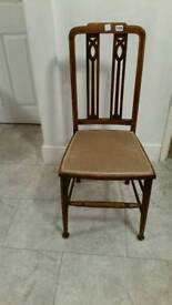 Hand crafted Vaneer Chair