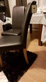 2 dining chairs brand new