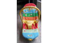 Mothercare vibrating baby bouncer