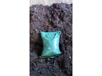 25kg approx Mushroom compost bags free local delivery (min 5 bags per house or allotment visit