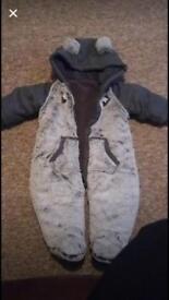 Baby snowsuit 0-3months