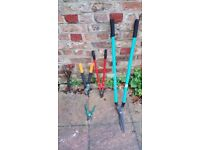 Gardening tools for sale. Pruning Tools. Loppers, Sacateurs and Shears