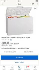 New ex display haierchest freezer Curry's customer damage and Skechers return £230 bar