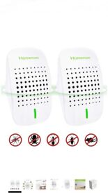 Ultrasonic Pest Repeller, [ 2018 UPGRADED] Pests Control Electronic Plug-in Repellent for Mosquito,