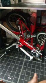 stretching bike