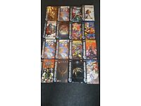 16 varied Sega Saturn games all in original boxes with manuals,tried and tested great condition.
