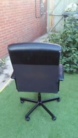 black sivell office chair