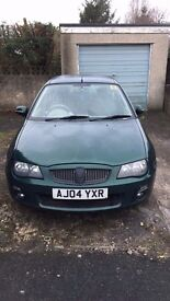 Rover 25 1.4L (MG ZR Lookalike) White Alloys/Exhaust NEW MOT