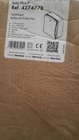 VEVTAXIA FAN BATHROOM TOILET NEW IN BOX