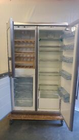Fridge Freezer with Wine cooler