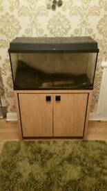 Fishtank with cabinet